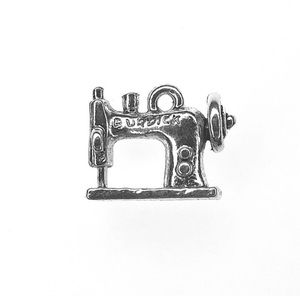 Quilting Sewing Pewter ColorCharms Sewing Machine